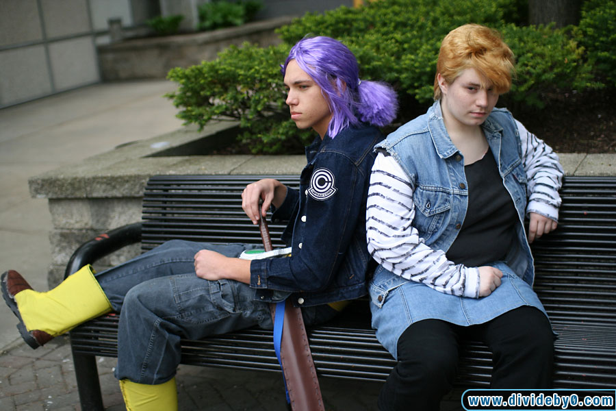 Private Photoshoot Trunks And Android 18 From Dragonball Z